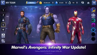 MARVEL Future Fight v4.0.1 Mod Apk