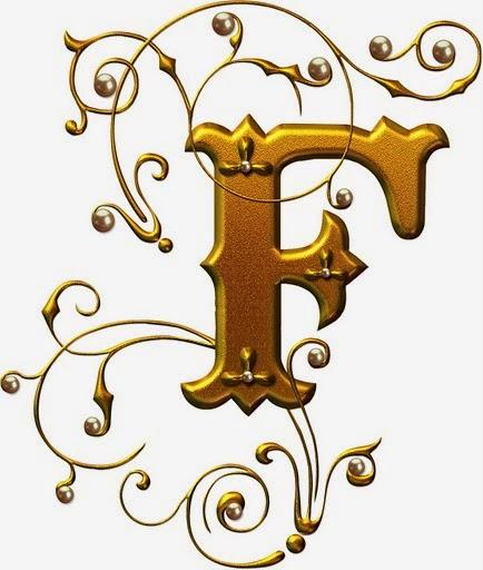 R O C K: Letras Douradas Com Pérolas