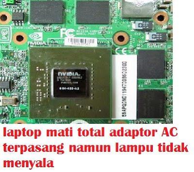 Penggunaan baang barang elektronik jika digunakan melebihi kapasitas yang seharunya tentu   cara memperbaiki laptop mati total adaptor AC terpasang namun lampu tidak menyala