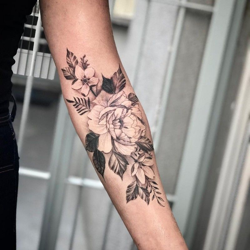 220+ Flower Tattoos Meanings and Symbolism (2019) Different