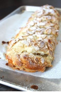 Easy Almond Puff Pastry