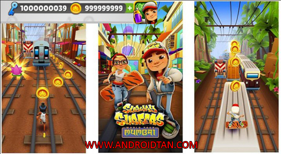 terbaru kepada kalian semua sehingga kalian sanggup merasakan game yang terupdate satu per sa Download Game Subway Surf Mod Apk v1.76.0 Unlimited Coins/Keys Terbaru