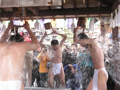 長勝寺の水行
