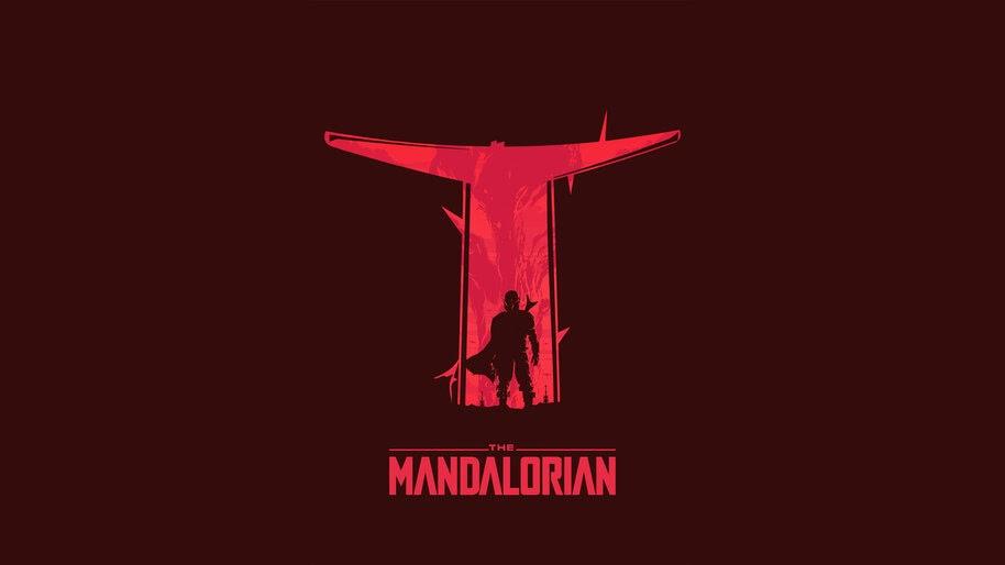 The Mandalorian, Minimalist, 4K, #7.256 Wallpaper