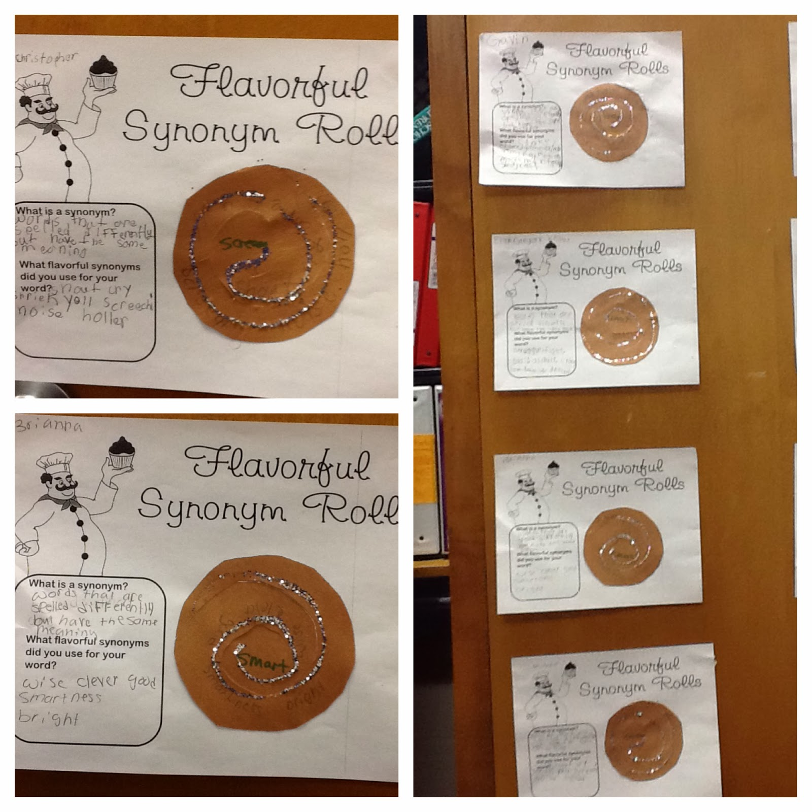 Tidbits From Ms Pitts Flavorful Synonym Rolls W Freebie Worksheet