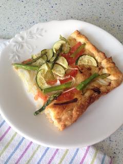 Presentación coca de verduras
