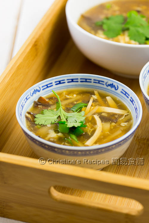 素酸辣湯 Vegetarian Hot and Sour Soup01