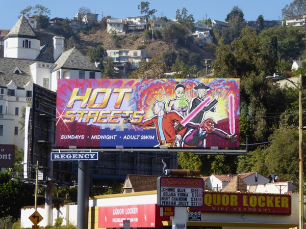 Hot Streets season 1 billboard