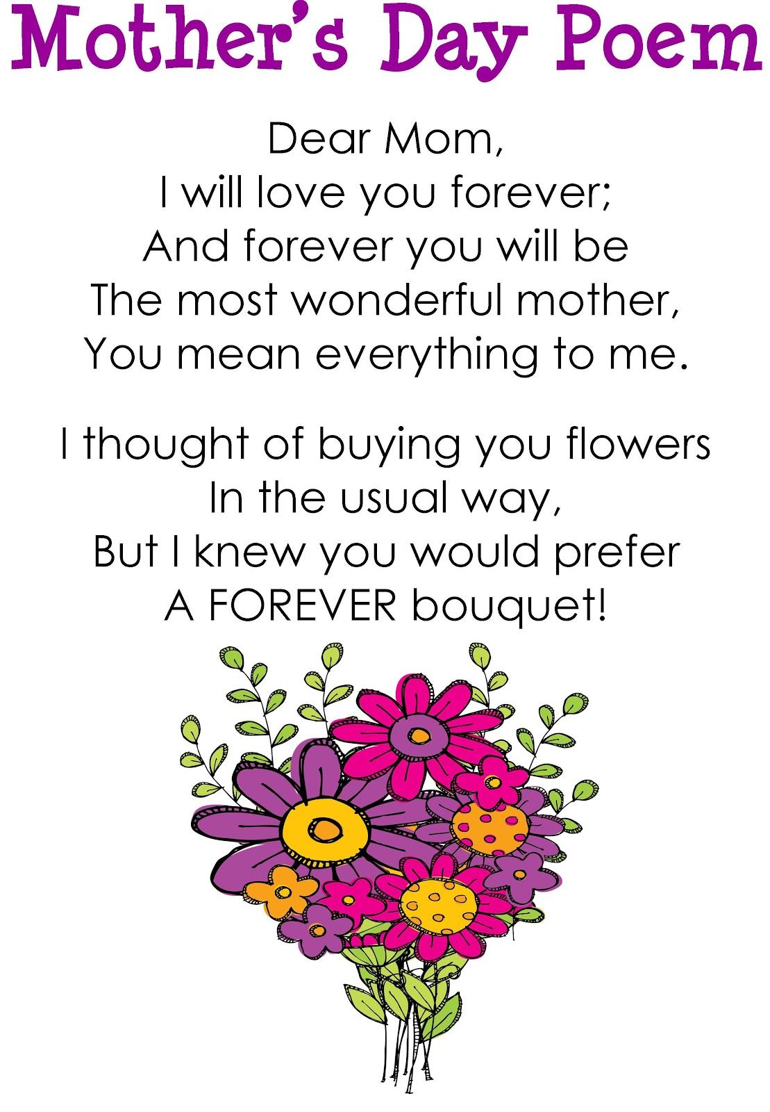 Mothers Day Poems, Messages, Wishes, Quotes – Wish Your Mom ...