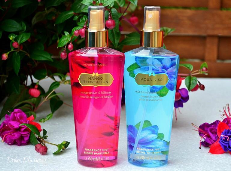 Victoria's Secret perfumowane mgiełki do ciała Aqua Kiss i Mango Temptation