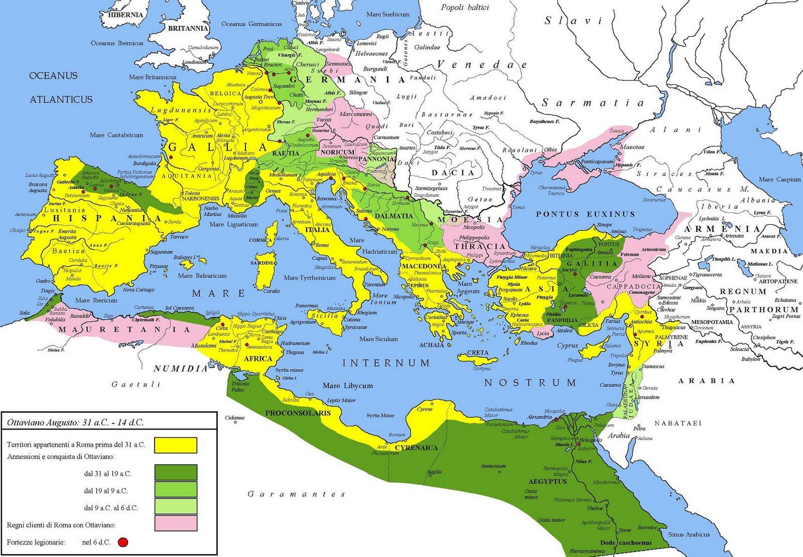 Império e Civilização Romana (753 a.C.- 476 d.C)