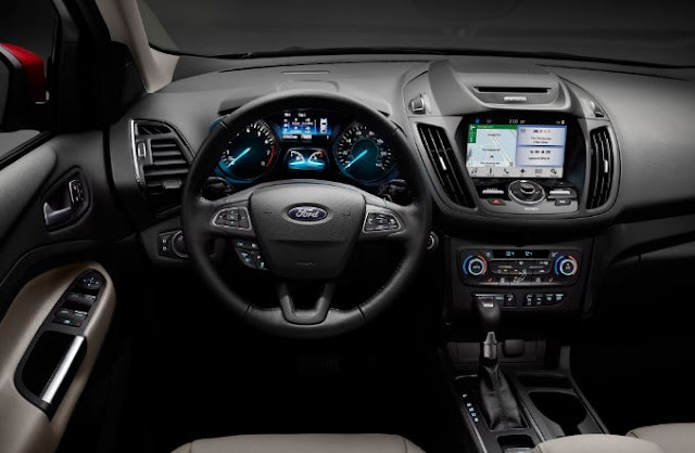 2017 Ford Escape 2.0 EcoBoost AWD Interior
