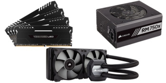 Corsair readies up for new 7th generation intel® core™ processors and intel® 200 series chipsets with comprehensive psu, dram and cpu cooler compatibility
