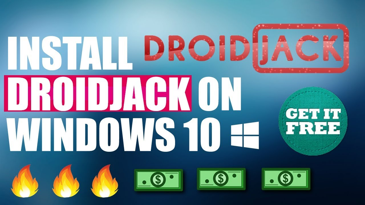 How To install DroidJack on windows 10 | Android Rat - Froyo
