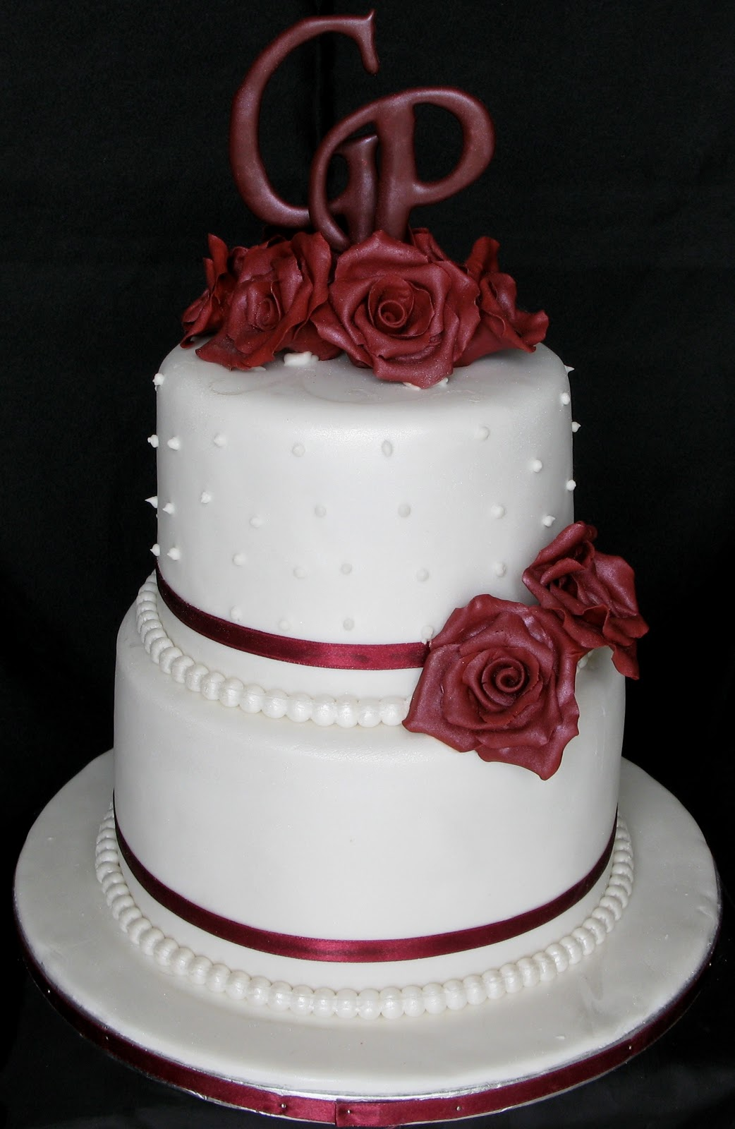Natre And Fruit Wedding Cake