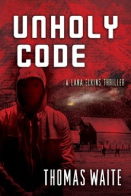 Review, Unholy Code by Thomas Waite, Bea's Book Nook, Action, Suspense