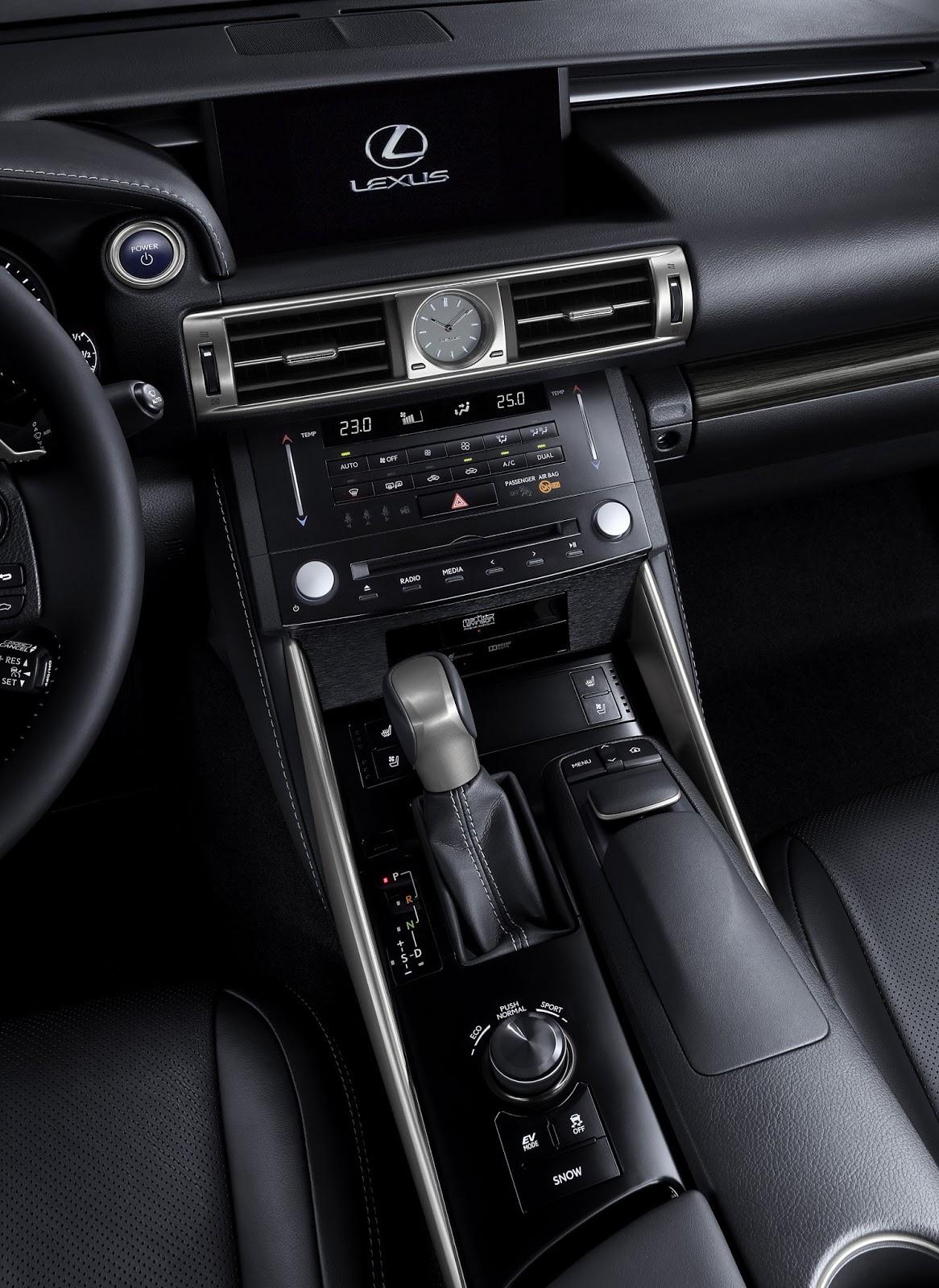 Interior Car Lexus ES 300h 2013