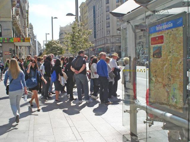 """""""Navega Madrid"""" en autobús"""