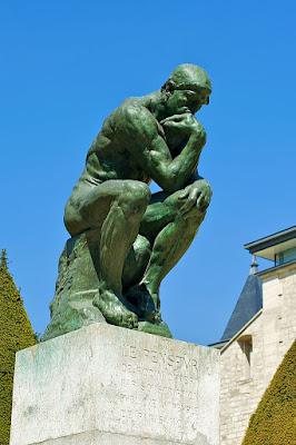 Patung Pemikir - Perancis