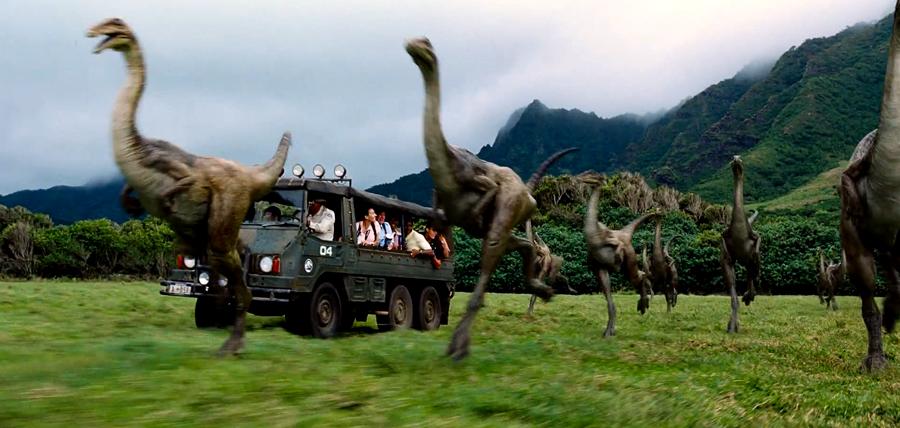 Dinozaurii din filmul Jurassic World