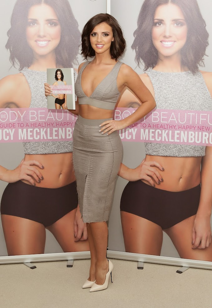 Lucy Mecklenburgh (1992): English actress