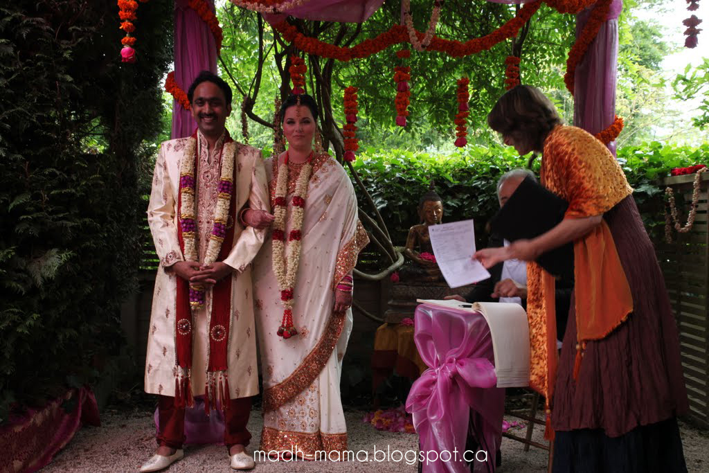 Canadian Wedding Gifts: Our Big Fat Indo-Canadian-Tamil-Telugu-Whindian Wedding