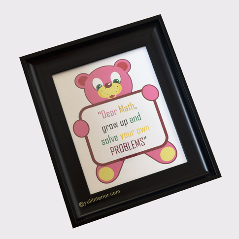 Kids Quote Decor Frame
