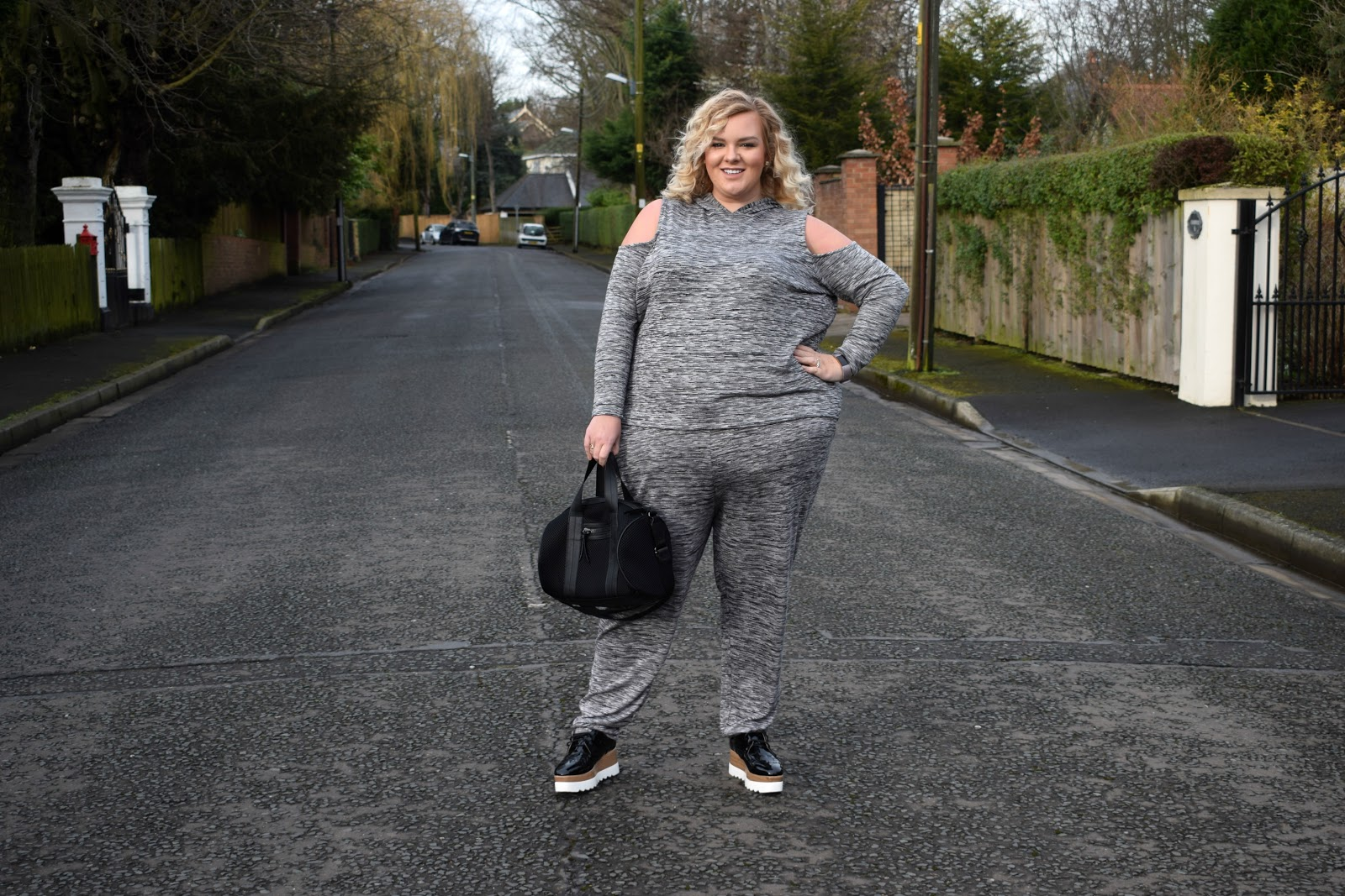 Simply Be Sports Luxe Loungewear, Body Positive, Plus Size, Fitbit Fitness Motivation