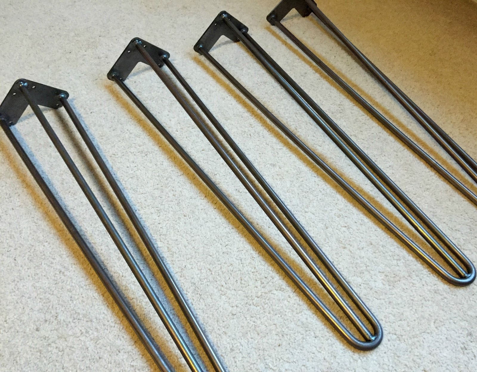 Heavy Duty Hairpin Legs by The Hairpin Leg Company
