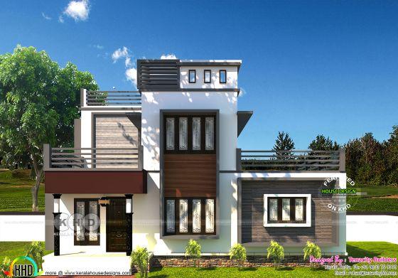 Front view rendering of design type 1