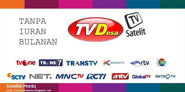 Daftar Channel Baru TV Desa pada Satelit SES 9