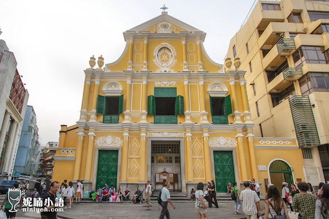 【澳門景點】玫瑰聖母堂。巴洛克建築之作