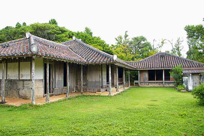 Mekaru Old House, traditional Okinawa dwelling