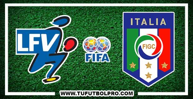 Ver Liechtenstein vs Italia EN VIVO Por Internet Hoy 12 de Noviembre 2016