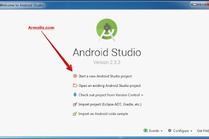 Membuat Project Sederhana di Android Studio