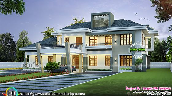 4 bedroom Classic style beautiful home plan