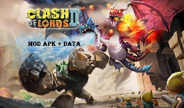 Download Clash of Lords 2 Apk Obb Data Game