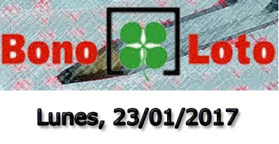 bonoloto lunes 23-01-2017
