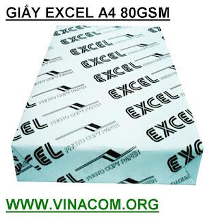 giay excel a4 80gsm