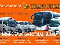 Jadwal Travel Trans Sukses