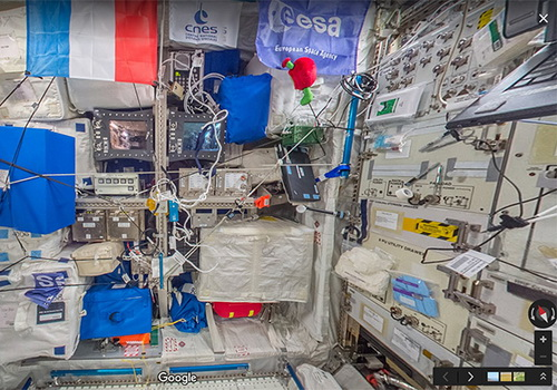 www.Tinuku.com Explore International Space Station with Google Street View