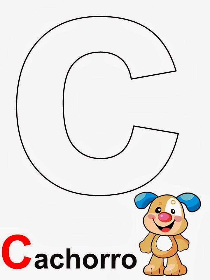 Alfabeto letra C Cachorro