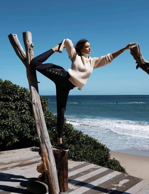 Tình yêu Yoga của Miranda Kerr
