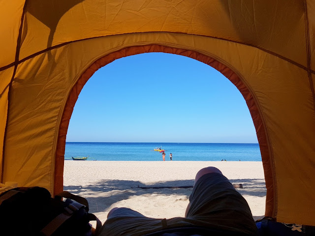 Would have been the best camping spot in Laki Beach