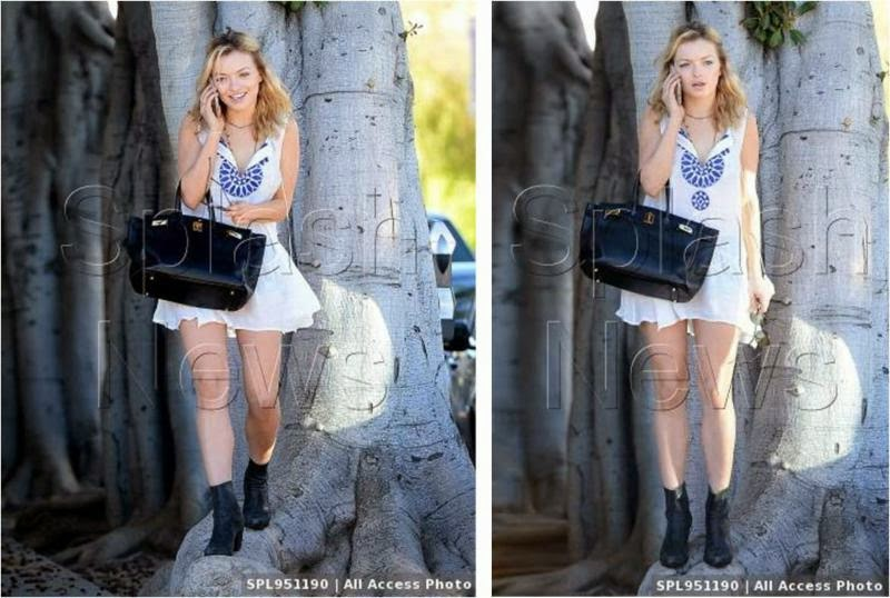 Francesca Eastwood Wearing THML
