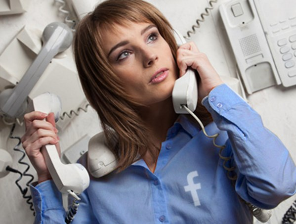 how to contact facebook by phone