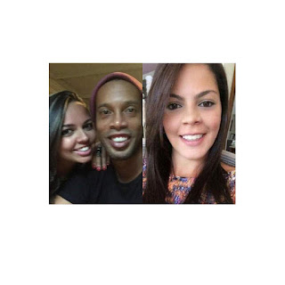 Footballer legend, Ronaldinho, set to marry his 2 girlfriends at the same time