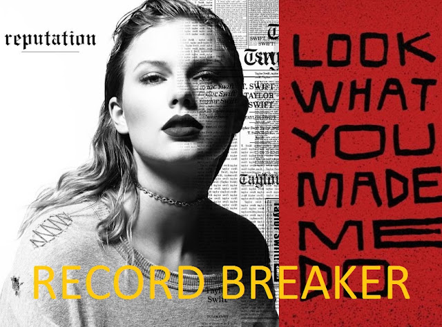 Taylor Swift's 'Look What You Made Me Do' breaks record in the first day of release
