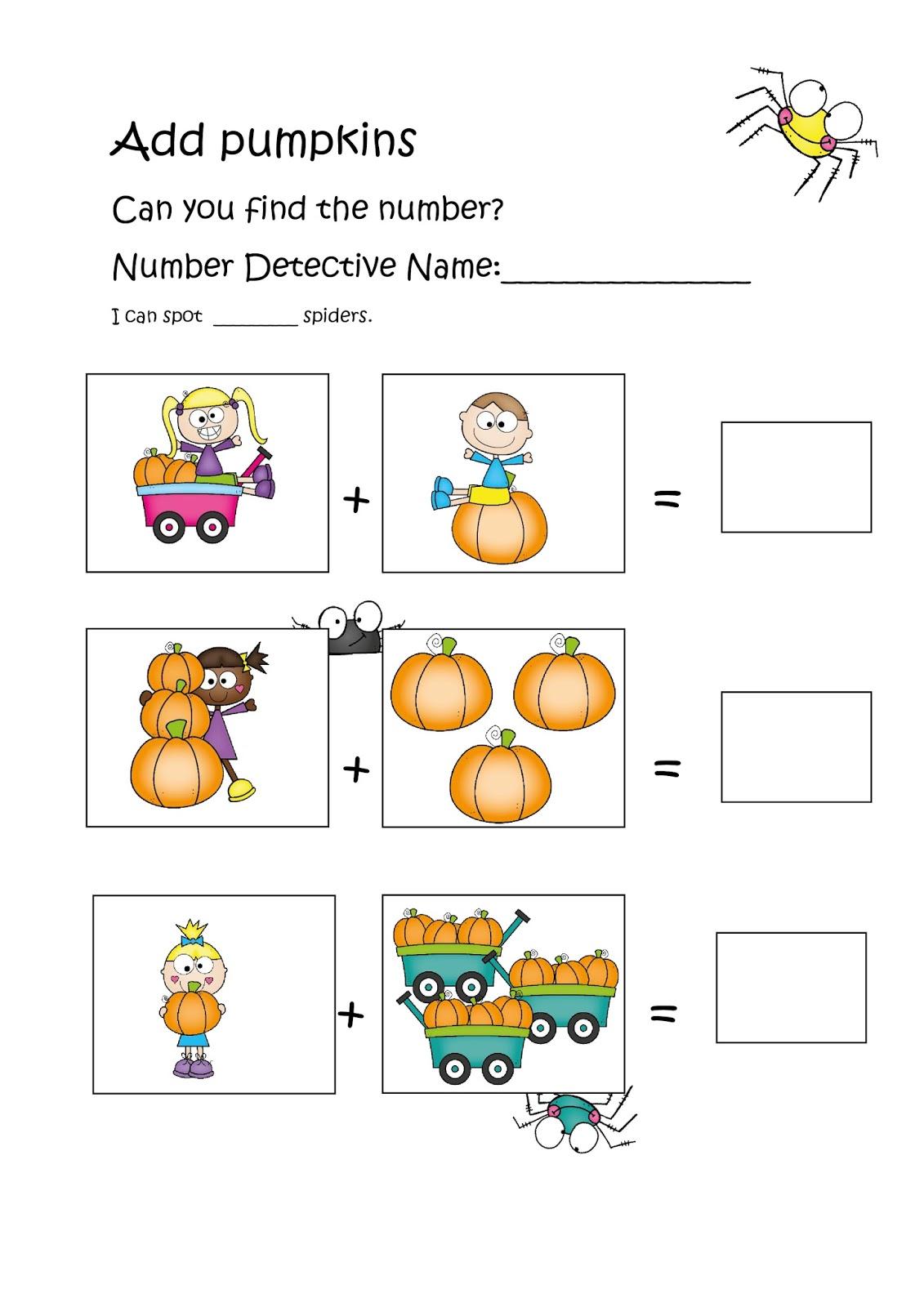 Be A Pumpkin Detective Math The Best Of Teacher