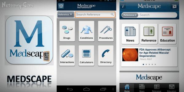 تطبيق-Medscape